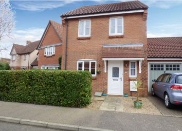 Thumbnail 3 bed detached house for sale in Field Acre Way, Long Stratton