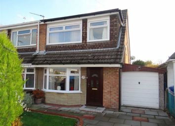 Thumbnail 3 bed semi-detached house for sale in Telford Crescent, Leigh