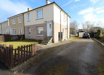 Thumbnail 2 bed flat for sale in 14 Forgewood Road, Motherwell