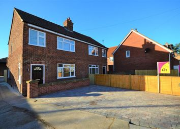 Thumbnail 3 bed semi-detached house to rent in Rythergate, Cawood, Selby