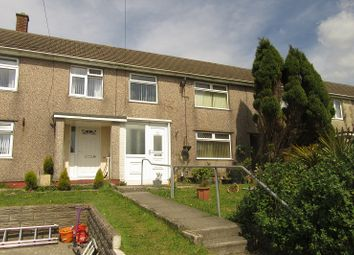 Thumbnail 3 bedroom terraced house for sale in Second Avenue, Clase, Swansea.