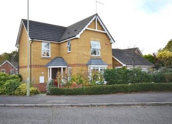 Thumbnail 3 bed detached house for sale in Brandon Road, Church Crookham, Hampshire