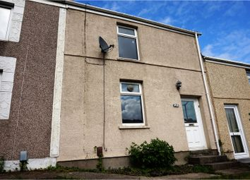 Thumbnail 2 bed terraced house for sale in Carmarthen Road, Cwmbwrla