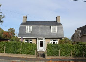 Thumbnail 3 bed detached house for sale in Caernarfon Road, Criccieth