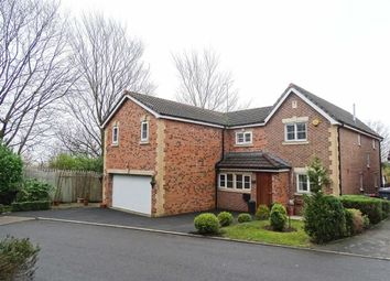 Thumbnail 4 bed detached house for sale in Degas Close, Salford, Salford
