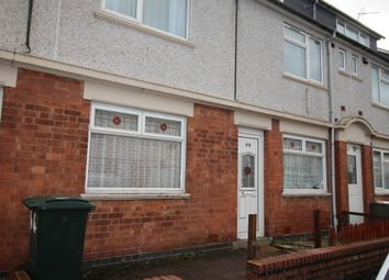 Thumbnail 2 bedroom terraced house to rent in Goring Road, Coventry
