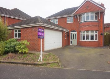 Thumbnail 4 bed detached house for sale in Besom Way, Walsall