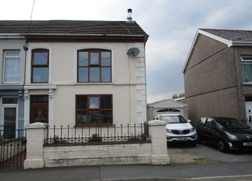 Thumbnail 3 bedroom semi-detached house for sale in Brecon Road, Ystradgynlais, Swansea.