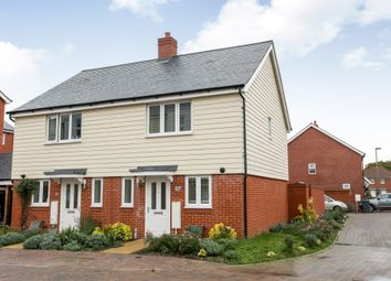 Thumbnail 2 bed semi-detached house for sale in Withers Road, Romsey