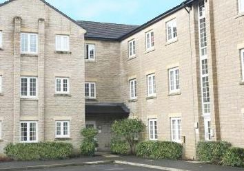 Thumbnail 2 bed flat for sale in Langwood Court, Haslingden, Rossendale
