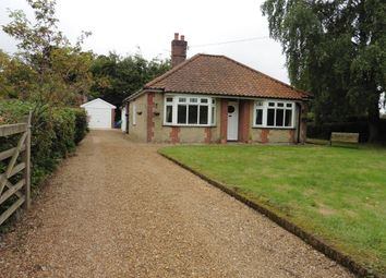 Thumbnail 3 bed detached bungalow for sale in Moor End Lane, Stibbard