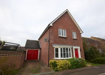 Guernsey Way, Kennington, Ashford, Kent TN24. 3 bed detached house for sale
