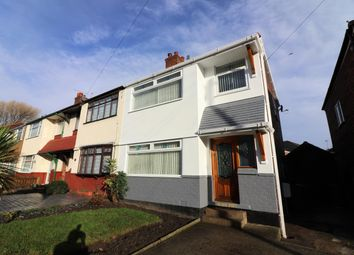 Thumbnail 3 bed semi-detached house to rent in Dale Hey Road, Wallasey