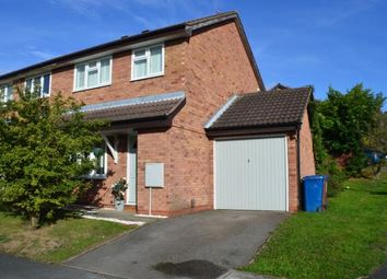 Thumbnail 3 bed semi-detached house for sale in Wolsey Road, Off Grange Lane, Lichfield, Staffordshire