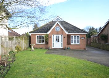 Thumbnail 2 bedroom detached bungalow for sale in Bunwell, Norwich