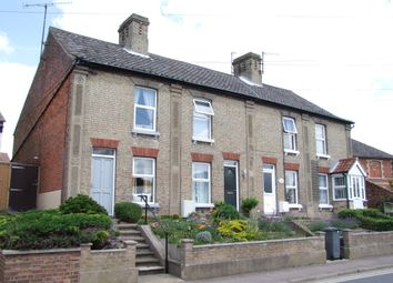 Thumbnail 2 bedroom end terrace house for sale in Mill Road, Saxmundham