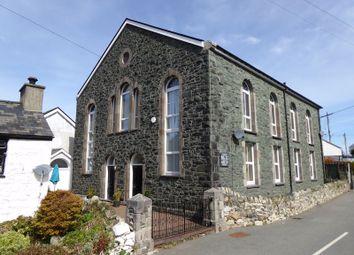 Thumbnail 3 bed semi-detached house for sale in Brynrefail, Caernarfon