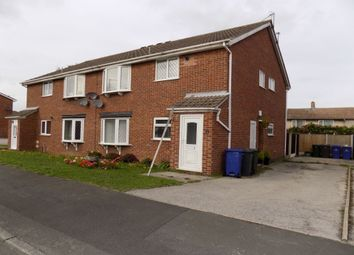 Thumbnail 2 bed flat to rent in Kingsway Close, New Rossington, Doncaster