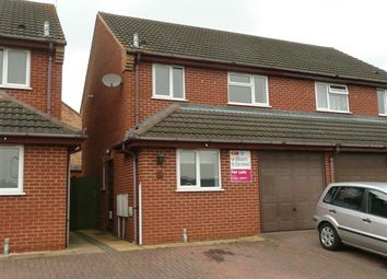 Thumbnail 3 bed semi-detached house to rent in Musson Close, Irthlingborough