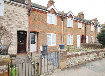 Thumbnail 3 bed terraced house to rent in Downlands Parade, Sompting Road, Broadwater, Worthing