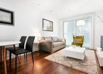 Thumbnail 1 bed flat for sale in Talisman Tower, Lincoln Plaza, Canary Wharf, London