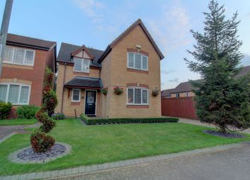 Thumbnail 4 bed detached house for sale in Skinner Avenue, Upton, Northampton