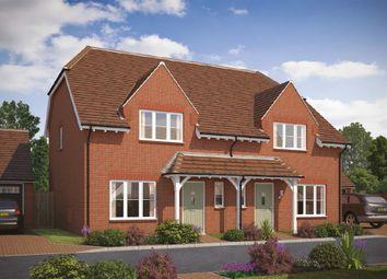 Thumbnail 3 bed semi-detached house for sale in Tadpole Garden Village, Blunsdon, Swindon