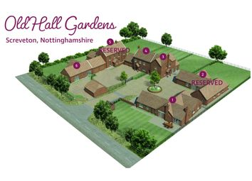 Thumbnail 2 bed detached house for sale in Old Hall Gardens, Hawksworth Road, Screveton