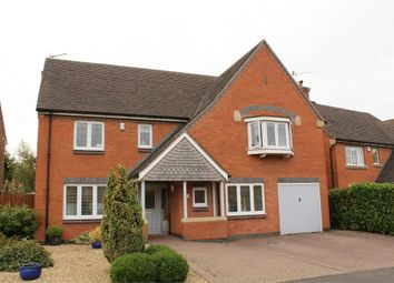 Thumbnail 5 bed detached house for sale in Beamont Close, Lutterworth