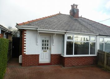 Thumbnail 2 bed bungalow to rent in Lytham Road, Warton, Preston