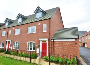 Thumbnail 4 bedroom end terrace house for sale in Lea Court, Bingham