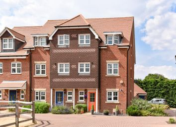 Thumbnail 4 bed town house for sale in Waterers Way, Bagshot