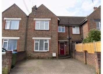 Thumbnail 3 bed terraced house for sale in Hill Road, Littlehampton