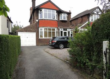 Thumbnail 3 bed detached house for sale in Buxton Road, Hazel Grove, Stockport