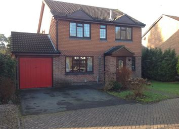 Thumbnail 4 bed detached house for sale in Badgers Copse, Camberley, Surrey