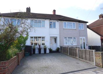 Thumbnail 3 bed terraced house for sale in Mount Road, Chessington