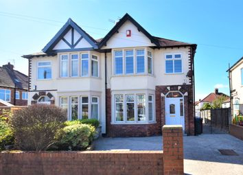 Thumbnail 3 bed semi-detached house for sale in Pierston Avenue, Blackpool, Lancashire