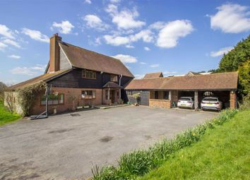 Thumbnail 5 bed detached house to rent in Flower Lane, Godstone, Surrey