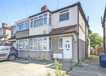 Thumbnail 1 bed flat for sale in Wood End Gardens, Northolt, Middlesex