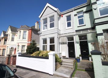 Thumbnail 4 bed end terrace house for sale in Chestnut Road, Plymouth