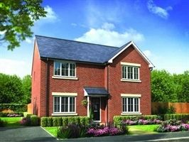 "Thumbnail 5 bed detached house for sale in ""The Calvert"" at Garcia Drive, Ashington"