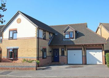 Thumbnail 4 bed detached house for sale in Ascot Road, Horton Heath, Eastleigh