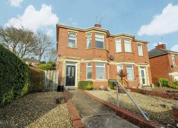 3 bed semi-detached house for sale in Lodge Road, Caerleon, Newport NP18