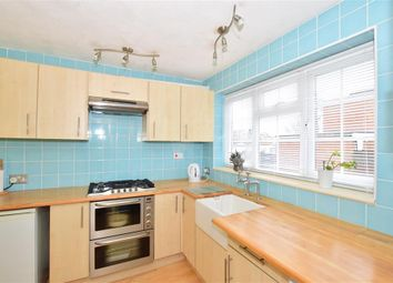 Thumbnail 3 bed end terrace house for sale in Hunters Way, Uckfield, East Sussex