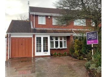 Thumbnail 3 bed semi-detached house for sale in Burnet Grove, Featherstone, Wolverhampton