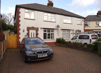 Thumbnail 4 bed semi-detached house for sale in Springfield Road, Macclesfield