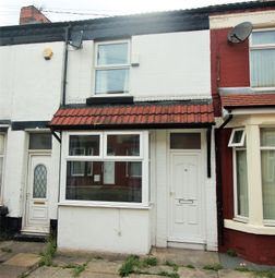 Thumbnail 2 bed terraced house to rent in Harrowby Road South, Birkenhead, Merseyside
