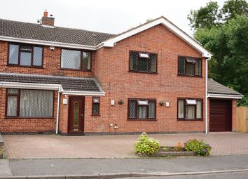 Thumbnail 5 bedroom semi-detached house for sale in Severn Road, Oadby