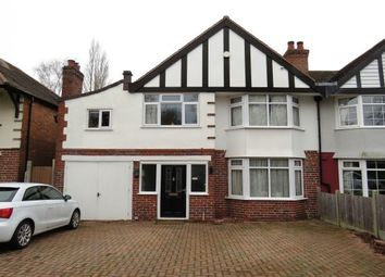 Thumbnail 5 bed property to rent in Weoley Park Road, Birmingham