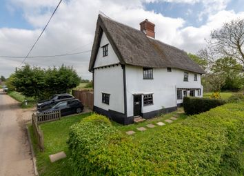 Thumbnail 2 bed cottage for sale in Mill Road, Mendlesham, Stowmarket, Suffolk